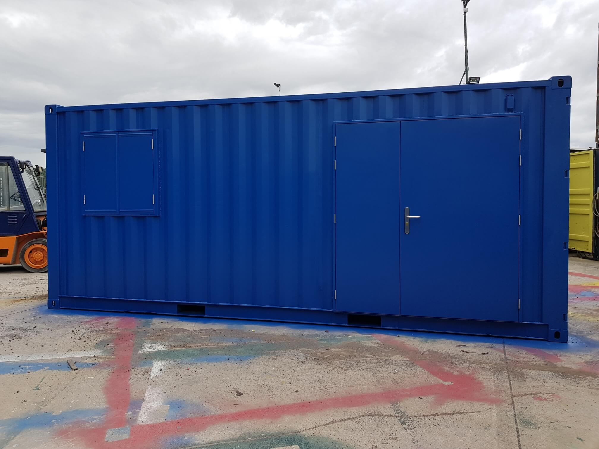 New Conversion At Cthq Container Team